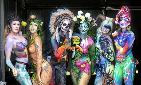 Festival Of Body Art Noosa Today