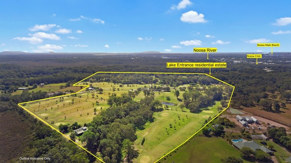 Buy yourself a golf course   Noosa Today